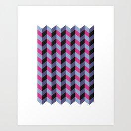 016 - A ladder to my mind Art Print