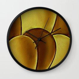 The Golden Eggs Wall Clock
