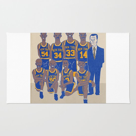 The '94 Knicks Rug