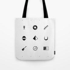 Tribute To Daft Punk, W&B. Tote Bag