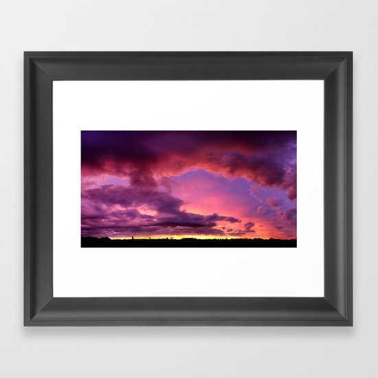 Redsky Framed Art Print