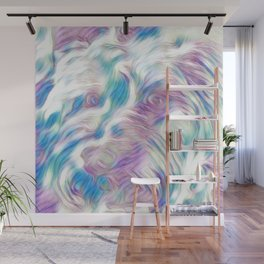 Pastel Penny the Yorkipoo art Wall Mural
