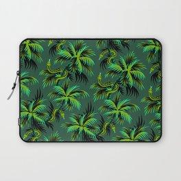 Snake Palms - Green Laptop Sleeve