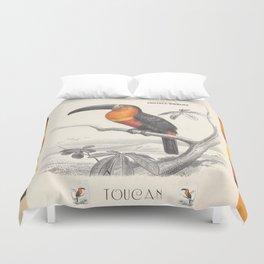 Toucan Bird Responsible Travel Art Duvet Cover