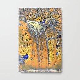 "series waterfall ""Cachoeira Grande"" II Metal Print"