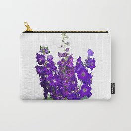 Rich blue-violet Delphinium Carry-All Pouch