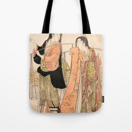 Dance of the Beach Maidens Tote Bag
