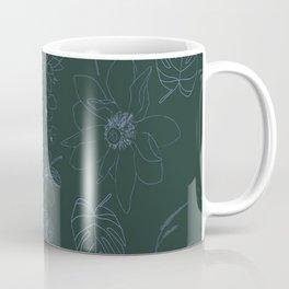 Botanical Garden in the Moonlight Coffee Mug