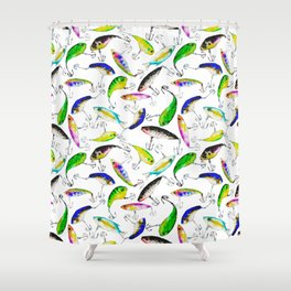 Fishing is Fly Shower Curtain