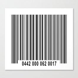 Barcode 1 Canvas Print