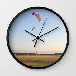 Paraglider Wall Clock
