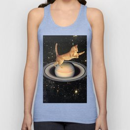 Cat.In.Space. Unisex Tank Top