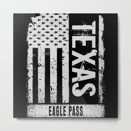 Eagle Pass Texas Metal Print