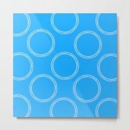 Sophisticated Circles Metal Print