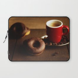 Fresh Donuts for coffee Laptop Sleeve