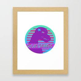 Velocijammer Framed Art Print