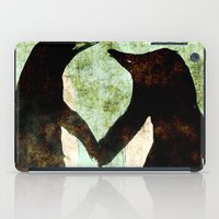 penguins iPad Cases featuring Penguins by James Peart