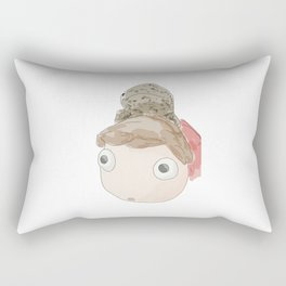 DekaDeka & DekaSan (Ponyo and Salamander) Rectangular Pillow