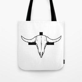 Desert Skull & Cross Tote Bag