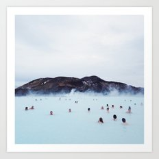 The Blue Lagoon Art Print