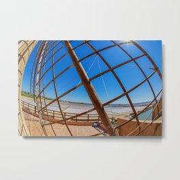 Wind mill vane Metal Print