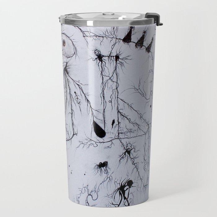 A Stroll Through the Nervous ( Artist - Nick Durham  ) Travel Mug