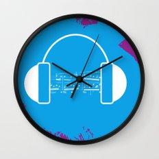 The Music Brain Wall Clock