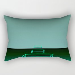 Waited for hours Rectangular Pillow