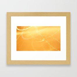 Familiar Lights Framed Art Print