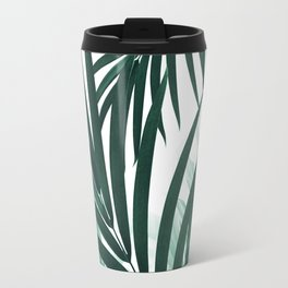 Palm & Monstera Leaves Mix #2 #foliage #decor #art #society6 Travel Mug