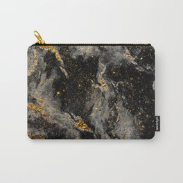 Galaxy (black gold) Carry-All Pouch