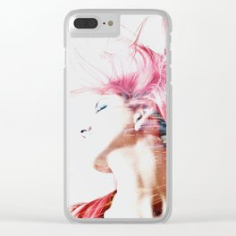 Red hair city Clear iPhone Case