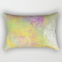 The Formation of Life Rectangular Pillow