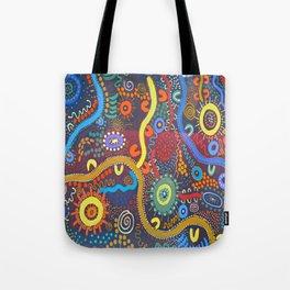 Mbantua Aboriginal Art Gallery Cultural Museum Australia Tote Bag