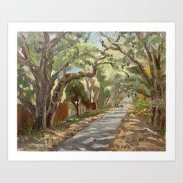 Iron Horse Trail Art Print