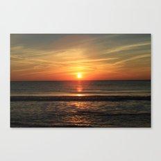 Clear Sunset Canvas Print