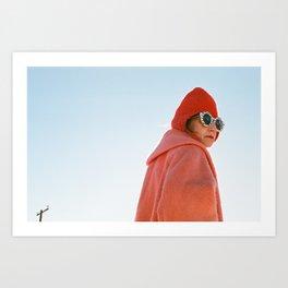 Desert Woman. Art Print