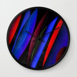 Midnight geometry one Wall Clock