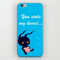 kingdom hearts iPhone & iPod Skins featuring Kingdom Hearts - Heartless by UncannyViolet