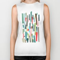code Biker Tanks featuring color code by frameless