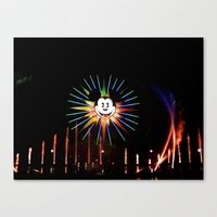 mickey Canvas Prints featuring Mickey  by AuFish92024