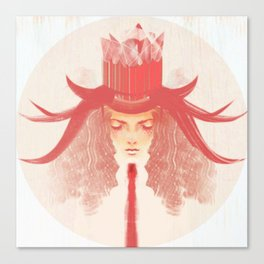 Crown Ruby Canvas Print