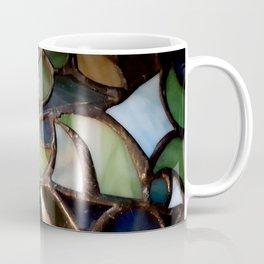 Stained Glass Enamel Coffee Mug