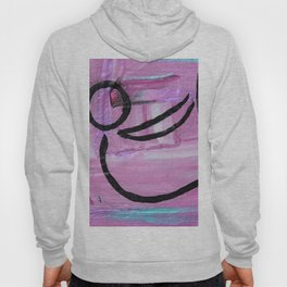 Bow pose abstract Hoody