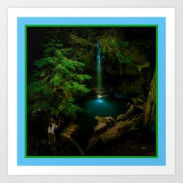 Big Basin Redwood State Park, Boulder Creek, CO Art Print