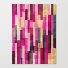 Pinks and Parallels Canvas Print
