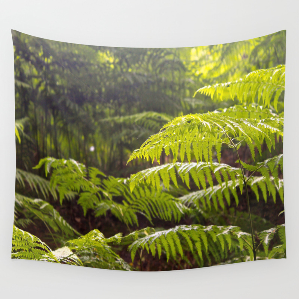 Beauty Of Plants Wall Tapestry by Maggiesartdesign TPS3975124
