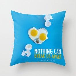 Nothing Can Break Us Apart Throw Pillow