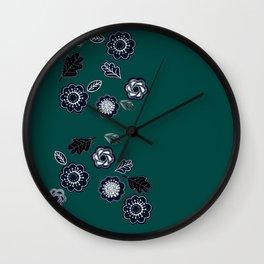 Forest Green not Forest Gump Wall Clock