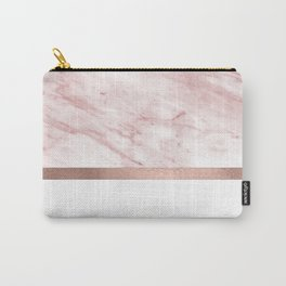 Minimalist rose gold glam Carry-All Pouch